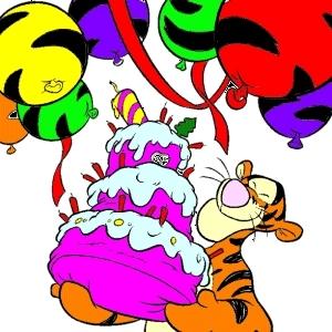 Мультяшные поздравления с днем рождения подруге